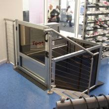 Unenclosed Vertical Platform Wheelchair Lift 4