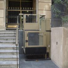 Unenclosed Vertical Platform Wheelchair Lift 6